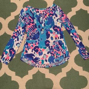 Lilly Pulitzer Tops - lilly pulitzer long sleeve top